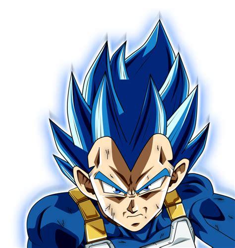 Vegeta SSJ BLUE full power by jaredsongohan Goku limit