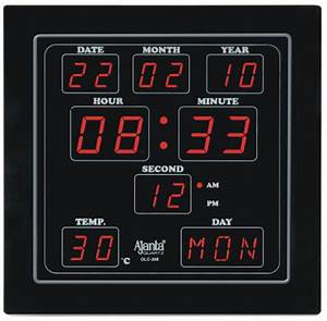 Ajanta digital wall clock price in india buy ajanta for Digital wall clocks online