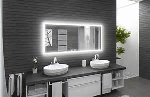 Spiegel Mit Led Licht : spiegel mit uhr und licht ql33 hitoiro ~ Bigdaddyawards.com Haus und Dekorationen