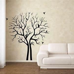 Wall art designs home decor black printable tree