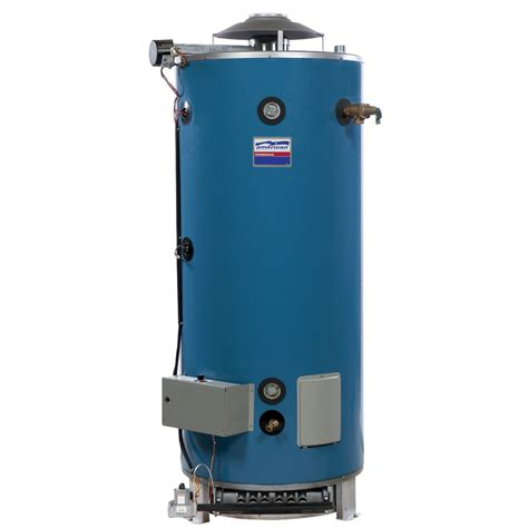 water heater shop american water heater company 100 gallon 3 year tank 1 year parts commercial tall natural