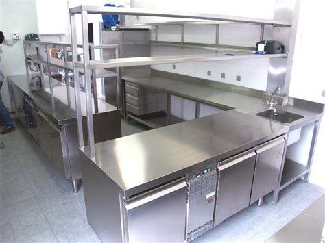 meuble cuisine en inox meuble inox cuisine cuisine moderne