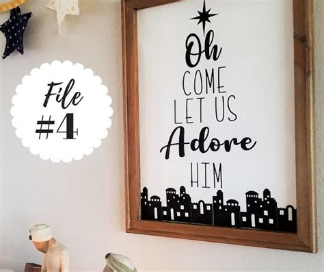 Free christmas luminaries svg files. free christmas svg files for Cricut. | Simple holidays ...