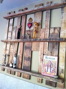 UPCYCLED – Pallet Shelf Project
