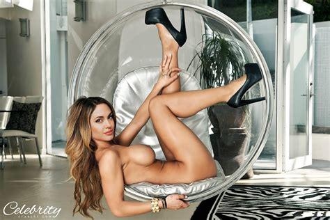 sexy angelina jolie topless in high heels wallpaper nude