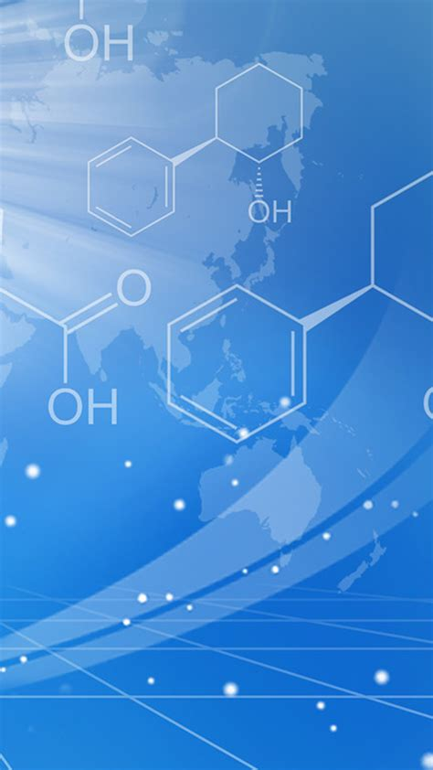 science  technology chemical formula  background