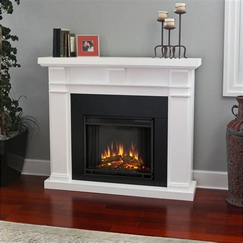 fireplace finishes real flame silverton electric fireplace in white finish