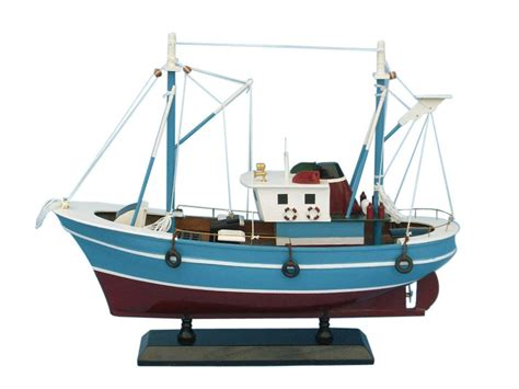 Fishing Boat Model by Buy Wooden Fish Finder Model Boat 14 Inch Wholesale