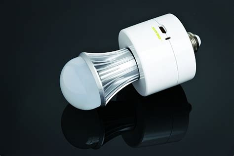 battery operated led light bulb wireless environment announces battery backed led l