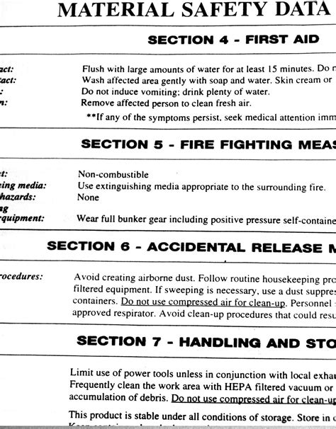 safety data sheet template 2017 safety data sheet