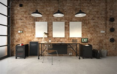 le de bureau industrielle 25 idées déco d un bureau maison nos astuces pour le