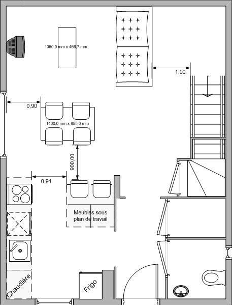 plan salon salle a manger am 233 nagement cuisine salle 224 manger 47 messages