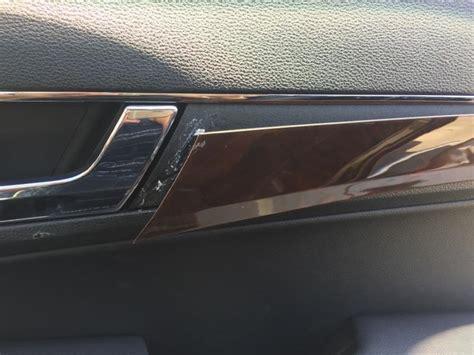 cabrio    wood trim coming loose