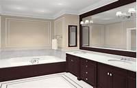 large bathroom mirrors Framed bath mirrors - 15 ways to give your bathroom a traditional feel   Inovodecor.com