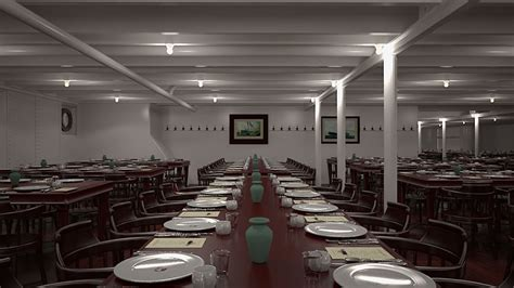 Third Class Dining Room On The Titanic by Titanic Ii To Set Sail In 2016 Psfk