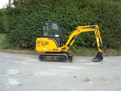 jcb  super  mini excavator   mechanical