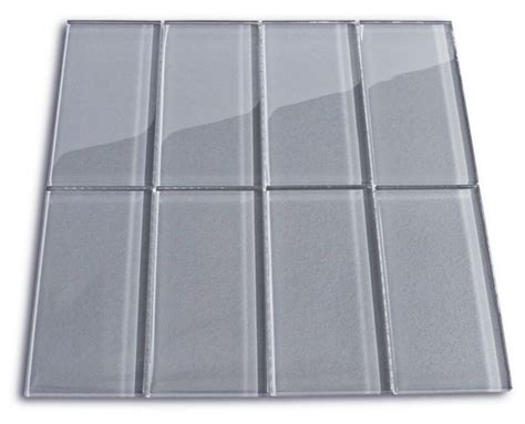 glass subway tile 3x6 for backsplashes showers more