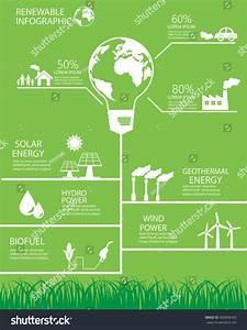 Renewable Energy Background Elements Hydro Wind Stock ...