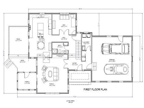 3 Bedroom House Plans 3-bedroom Ranch House Plans, Lake