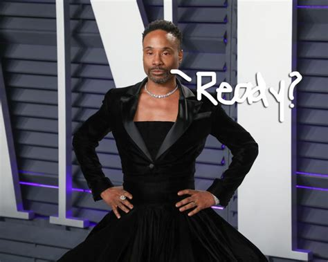 Met Gala Billy Porter Spreads His Gilded Wings