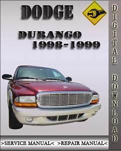 1998 Dodge Durango Factory Service Repair Manual