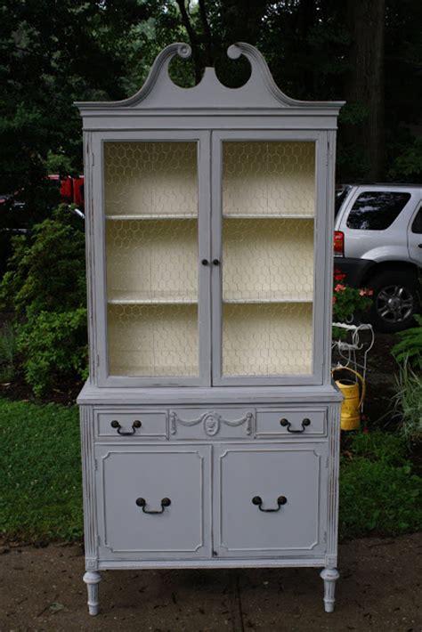 grey china cabinet gray china cabinet bustamante