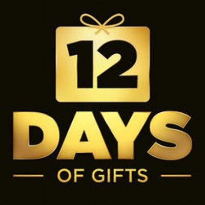 12 days of gifts 12 days twitter