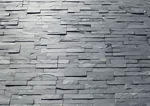 Pierre Parement Extérieur : parement ext rieur pierre naturelle ardoise 38x18 ~ Nature-et-papiers.com Idées de Décoration