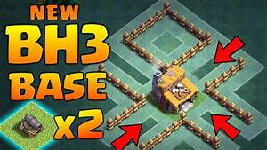 New Builder Hall 3 Base With 2 Cannons  U2666 Best Coc Bh3 Trophy Base