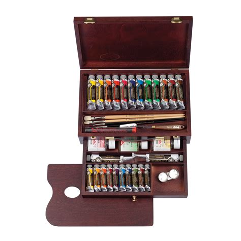 rembrandt master oil colour box ken bromley art supplies