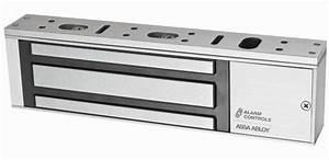 1200s  1200lb Single Magnetic Lock By Alarm Controls  Maglocks