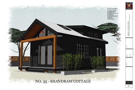 No 35 Shandraw Cottage (320 sq ft 16' x 20' house
