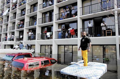 decade  katrina anchored hurricane season  grim