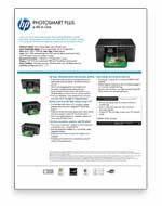 Hp Inkjet Printer Comparison Chart Amazon Com Hp Photosmart Plus Wireless E All In One