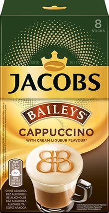 kaffeespezialitaet jacobs typ cappuccino baileys sticks