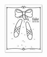 Tap Coloring Dance Sheets Games Ballet Class Activity sketch template