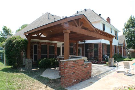 Attached Covered Patio Ideas