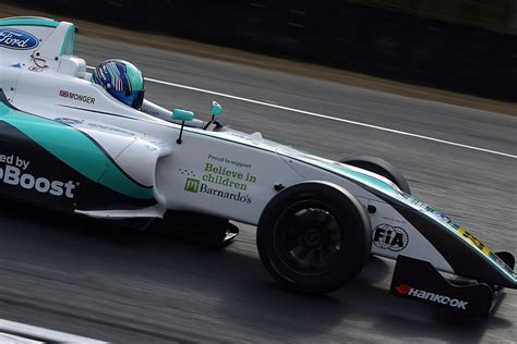 formula 4 crash billy monger thanks rescuers and supporters after formula