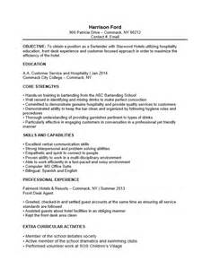bartending resume no experience free bartender no experience entry level resume template sle ms word