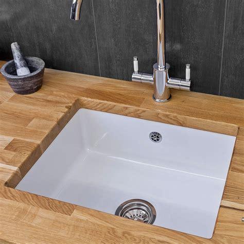 porcelain kitchen sinks undermount reginox mataro single bowl ceramic sink sinks taps 4333