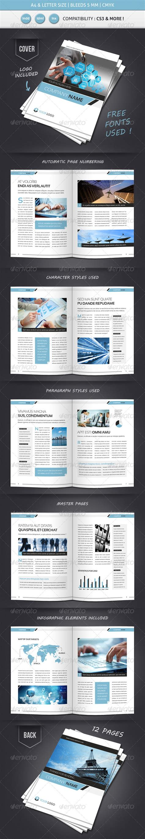 4 Page Brochure Template Free Best Clean Corporate Tri Business Letter Template Indesign Sle Business Letter