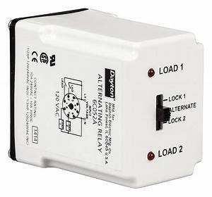 Dayton Alternating Relay  120vac  10a   240v  10a   28v