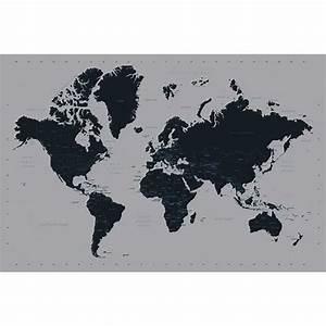 Carte Du Monde Design : poster carte du monde achat vente affiche poster cdiscount ~ Teatrodelosmanantiales.com Idées de Décoration