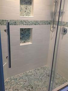 best 25 pebble shower floor ideas on pinterest grey With using pebbles for unique natural decorating bathroom ideas