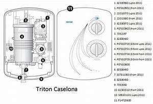Water Heater Manual  Triton Caselona Fitting Instructions