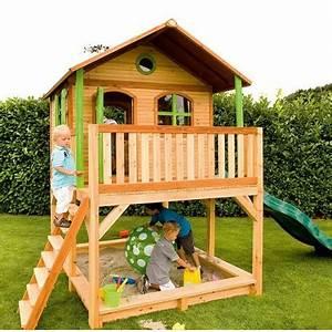 Cabane Pour Enfants En Bois MARC 435x200x294cm AXI