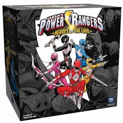 Rangers Power Grid Heroes Creator Studios Source