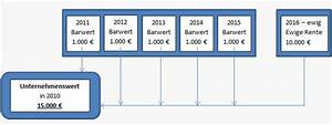 Rente Berechnen Leicht Gemacht : unternehmensbewertung leicht gemacht am beispiel von 5 ~ Themetempest.com Abrechnung