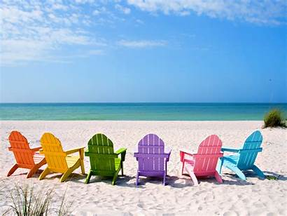 Summer Desktop Wallpapers Background Beach Chairs Beaches