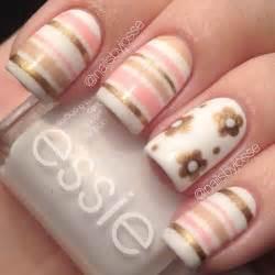 Cool striping tape nail art designs